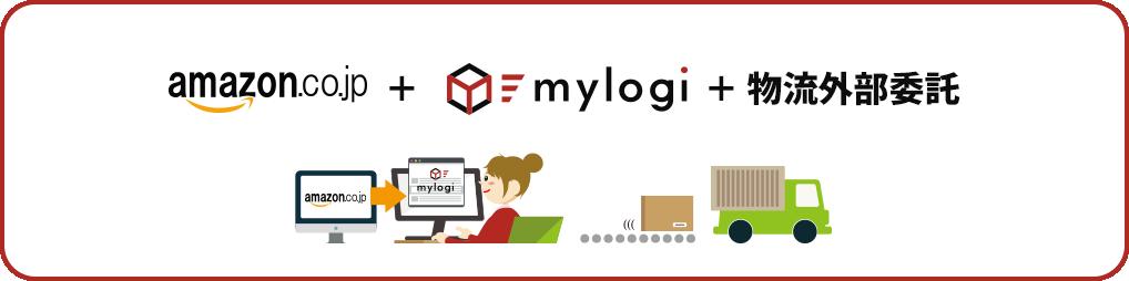 Amazon+mylogi+物流外部委託